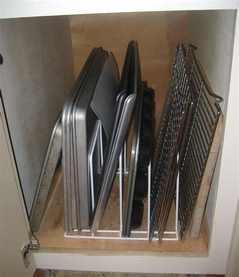 vertical tray dividers kitchen cabinets tray dividers for kitchen cabinets cabinet cookie sheet