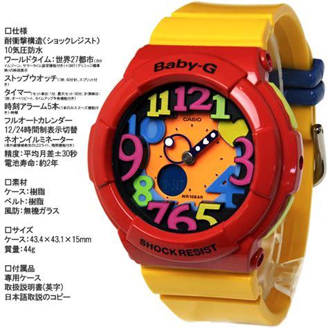 Casio Baby G Bga 131 4b5 楽天市場 baby g casio カシオ ベビージー 腕時計 クレイジーネオン シリーズ bga 131 4b5