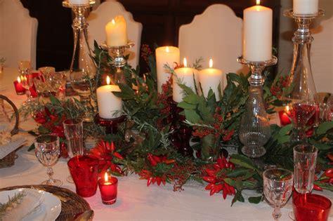 tavola di tavola di natale decorazioni tavola addobbi tavola di