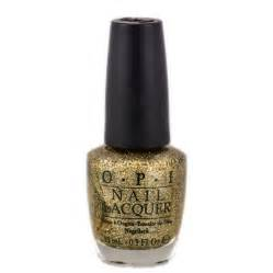 opi mariah carey all sparkly gold glitter nail lacquer
