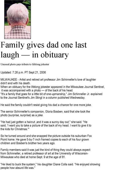 The Obituary obituary exles sle obituary and creative obiutaries