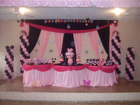 decoracion minnie decoraci 243 n de fiestas infantiles minnie beb 233 imagui