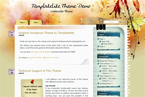 wordpress themes blog download 5 beautiful new wordpress themes