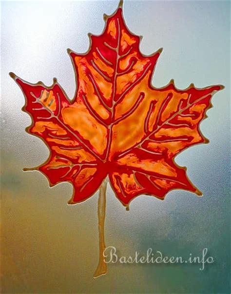 Herbstmotive Fenster by Herbstbasteln Window Color Fensterbild K 252 Rbisse Und