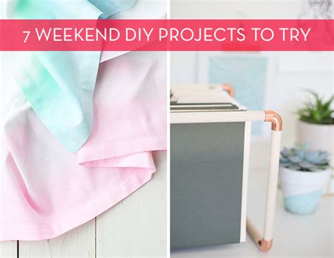 diy weekend projects 7 diy project ideas for your weekend 187 curbly diy design decor