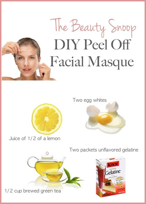 peel mask diy the snoop diy peel detox masque