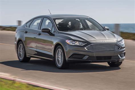 ford fusion 2017 2017 ford fusion se 1 5 ecoboost first test review