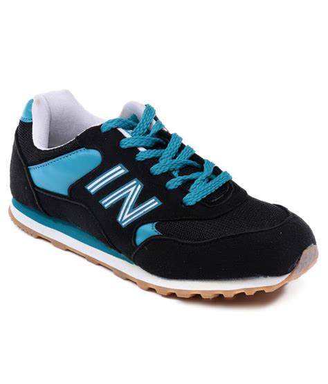 globalite expert black sport shoes price in india