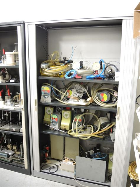 room measurement tool contenet of room measurement tools and spare parts cabinet
