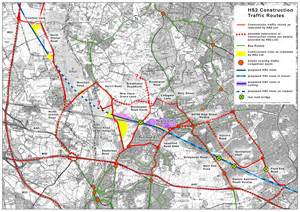 traffic map hs2 construction routes ruislip harefield ickenham