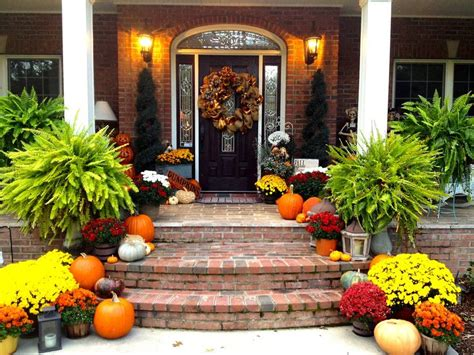 outdoor fall decorating ideas doors porches 25 best ideas about fall front doors on fall