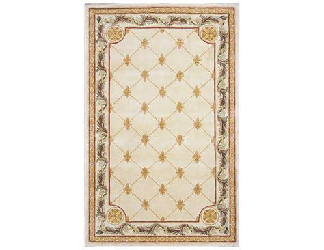 kas area rugs kas rugs antique ivory fleur de lis area rug 310