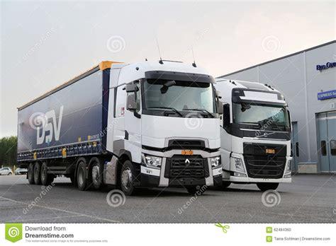 volvo semi truck service renault trucks t and volvo fh semi on demo drive event