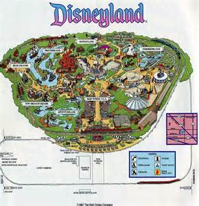 maps disneyland california theme park brochures disneyland theme park brochures
