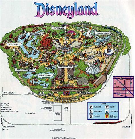 california map disneyland theme park brochures disneyland theme park brochures