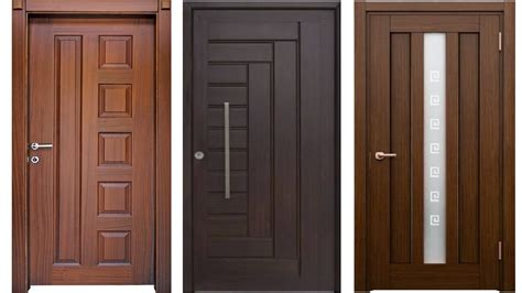 wooden door design for home top 30 modern wooden door designs for home 2017 pvc door