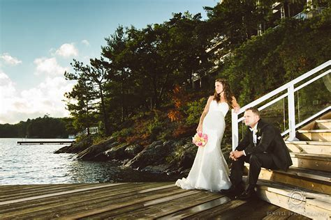 Touchstone on Lake Muskoka Resort Wedding   Adrienne & Rob