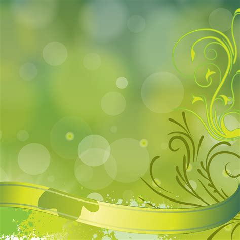 background vector green green floral vector background vector art graphics