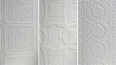 Classic Anaglypta Wallpaper   3 unique vintage ceiling design ideas home tree atlas