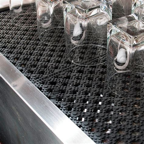 Kitchen Glass Mats 523 Modular Lok Tyle Interlocking Drain Tile 12 X 12