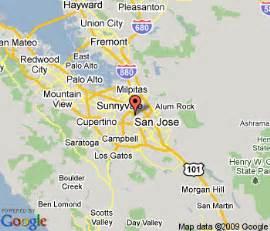 san jose california hotel map