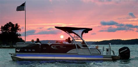 north shore pontoon center pontoons brooklyn michigan new boats hudson michigan