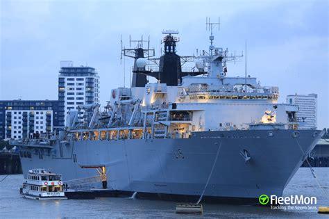 hms bulwark warship imo
