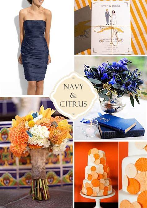 the 25 best navy orange weddings ideas on pinterest