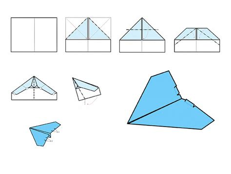 Different Paper Airplanes And How To Make Them - how to make a paper airplane that goes 100 khafre