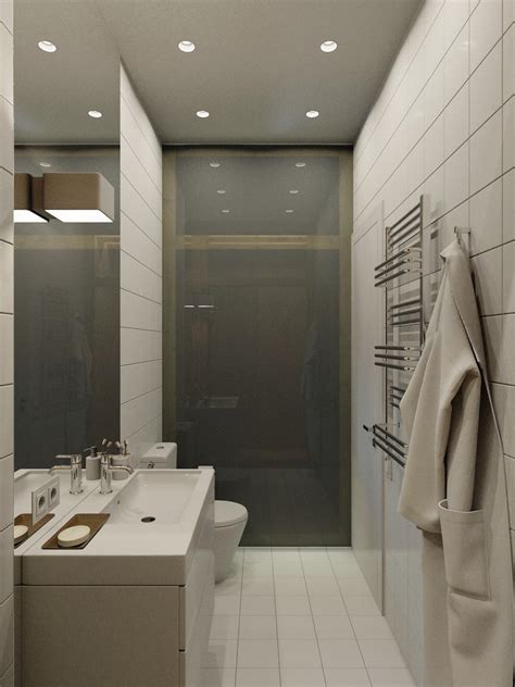 clean my space bathroom 4 small apartment designs under 50 square meters