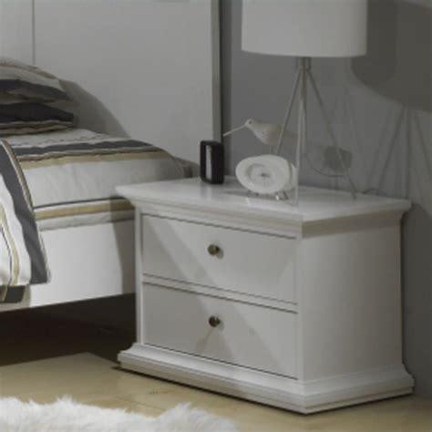 white bedroom nightstands 2 drawer nightstand in white 7030149