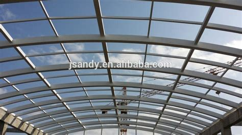 Cheapest Roof Design Environmental Cheap Steel Structure Polycarbonate Skylight