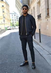 Street style black men fashion sizzle