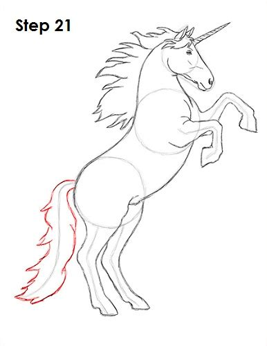 Drawing Unicorns by How To Draw A Unicorn