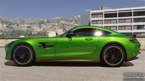 2017 Amg Gtr by Mercedes Amg Gt R 2017 Add On Replace Template