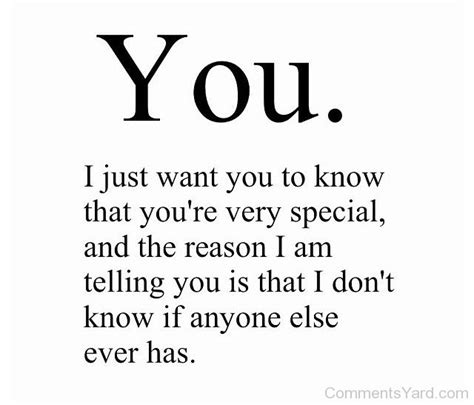 you are very special quotes quotesgram