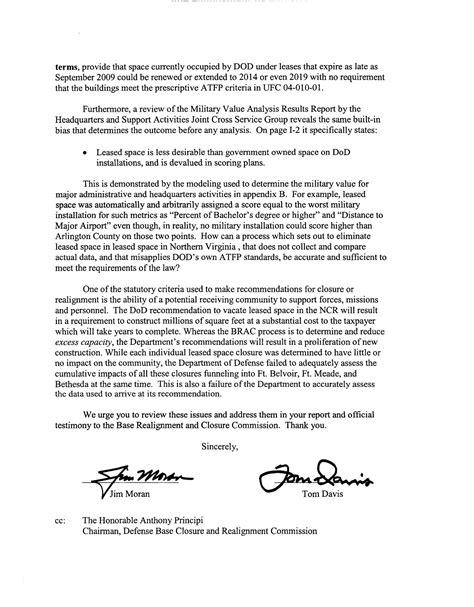 executive correspondence courtesy copy of letter sent