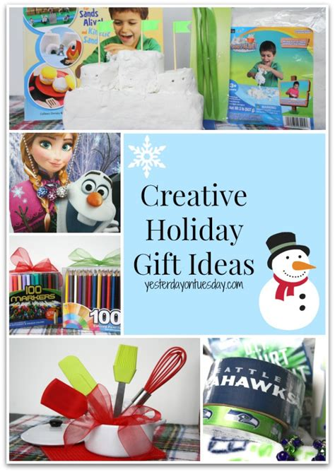 creative holiday gift ideas yesterday on tuesday