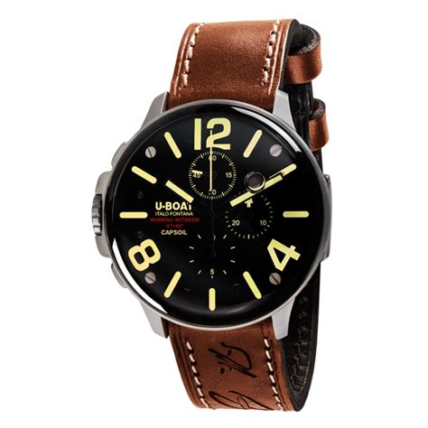 u boat copy watches wholesale copy u boat capsoil chrono ss 8111 watch review