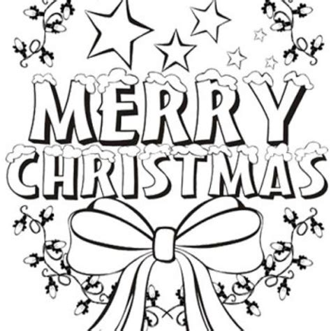 15 Merry Christmas Coloring Pages Print Color Craft Merry Colouring Pages Printable