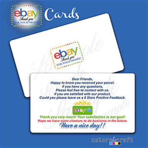 28 the best ebay business cards ebay sellers the best ebay business cards ebay sellers 125 business cards thank you cards feedback request cards reheart Image collections