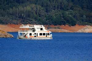 shasta lake house boat houseboat lakes in california images