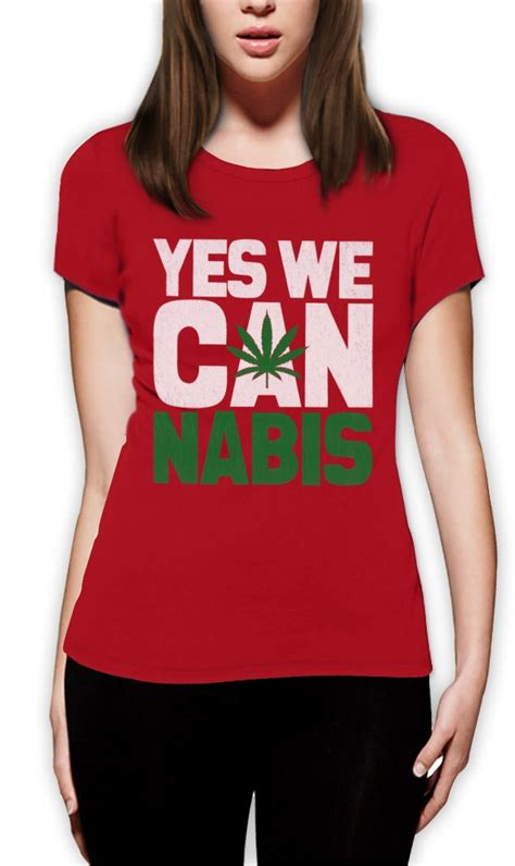 Hoodie Yes We Can Nabis Wisata Fashion Shop yes we cannabis t shirt novelty humor obama can marijuana slogan