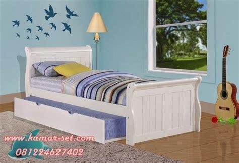 harga ranjang sorong anak single desain kamar tidur anak