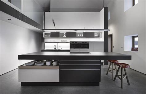 beautiful black white kitchen designs
