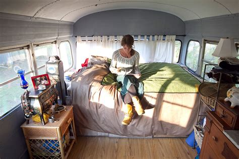 rosie 1978 bluebird bus tiny house swoon