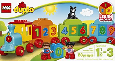 Dijamin Original Lego 10847 Duplo My Number lego duplo my number 10847 preschool import it all