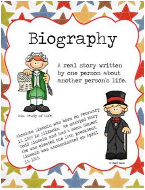 biography text primary graffiti biography and text feature freebies
