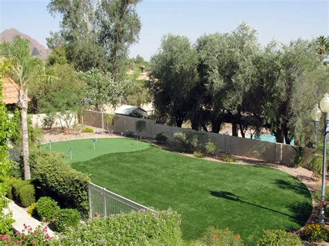 Backyard Putting Greens Cost Installing Artificial Grass Spring Texas Rooftop Backyard