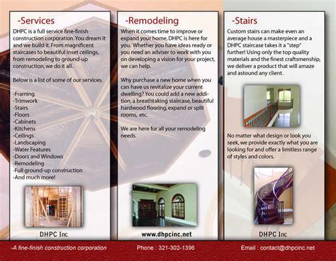 brochure templates exles brochure kiosk pics brochure exles for